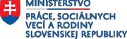 Ministerstvo práce, sociálnych vecí a rodiny LOGO