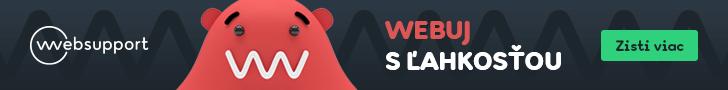 Sponzorovaný hosting od WebSupport.sk